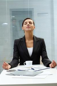 Meditation at Desk SS